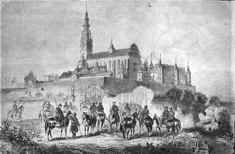 Polish forces in Częstochowa