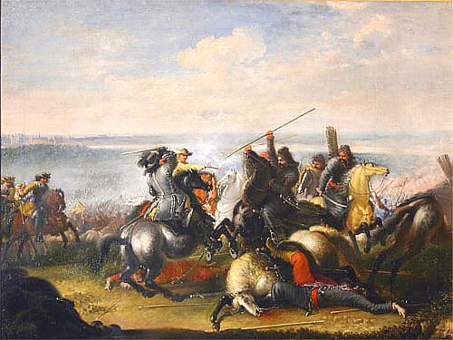 Painting by Johann Philipp Lemke