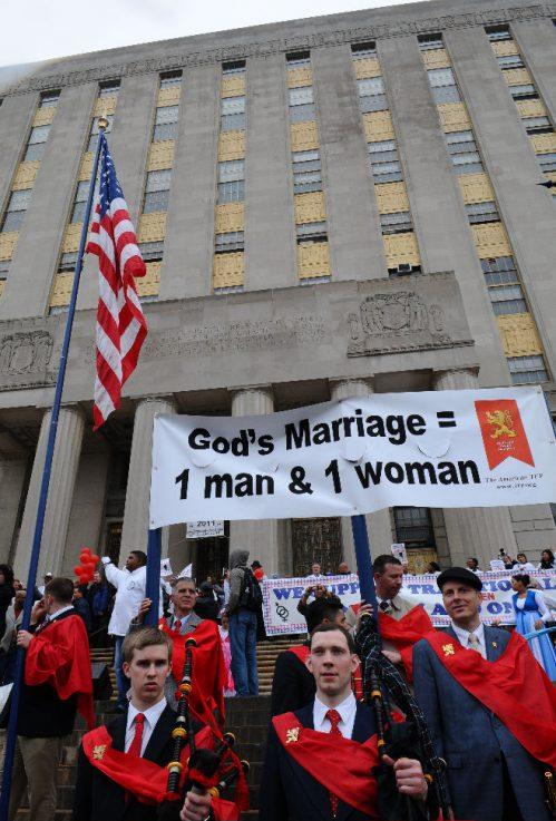 Bronx, New York Traditional Marriage Rally on May 15, 2011.