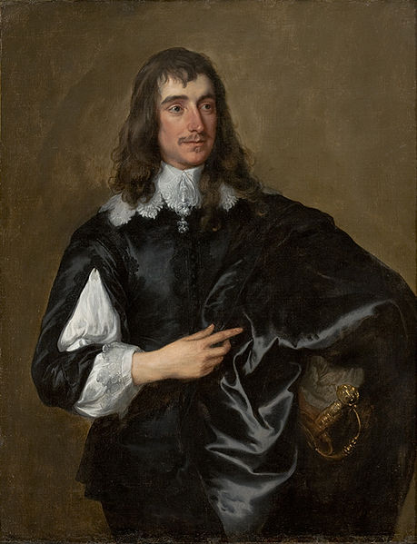 Bl. William Howard, Viscount of Stafford, Painting by Van Dyck