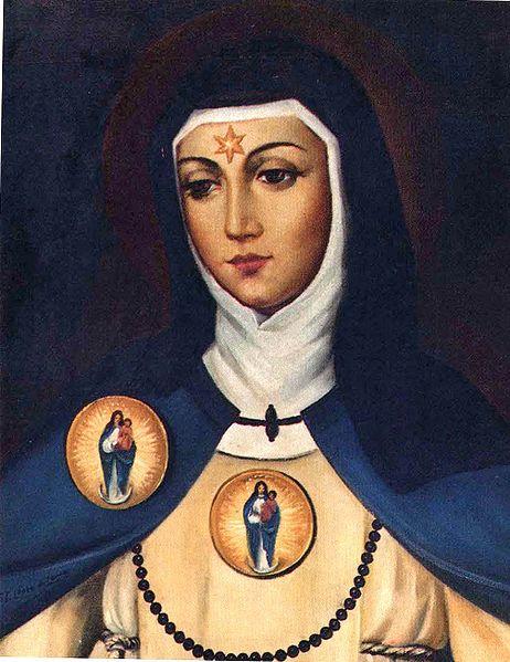 Founder of the Conceptionist Order, St. Beatriz da Silva.
