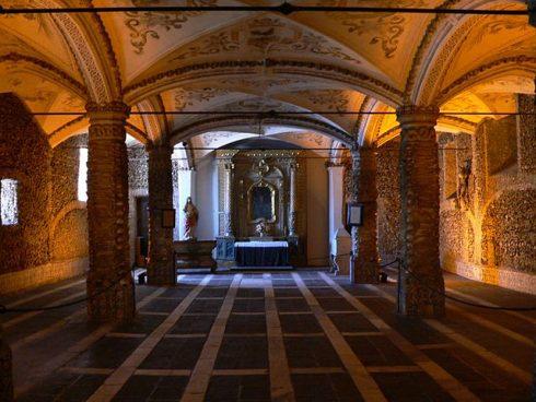 Evora - Chapel of Bones. Photo by Nuno Sequeira André.