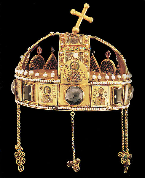 Crown of St. Stephen, King of Hungary