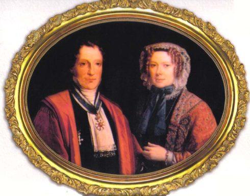 Carlo Tancredi Fallett and Giulia Falletti Colbert di Maulevrer