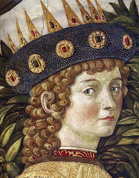 King St. Caspar, by Lorenzo il Magnifico