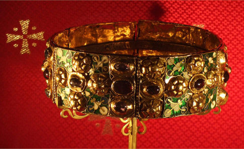 Iron Crown of Lombardy. Photo by James Steakley