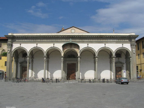 The Basilica della Santissima Annunziata (Basilica of the Most Holy Annunciation) is a Roman Catholic minor basilica in Florence, Italy, the mother church of the Servite order. It is located at the northeastern side of the Piazza Santissima Annunziata.