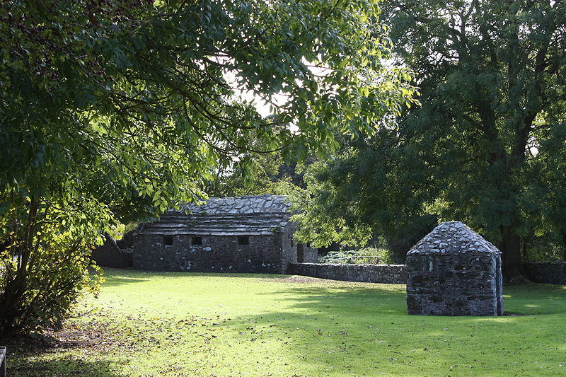 St. Patrick built shrines such as these all over the island and encouraged pilgrimages in his preaching.