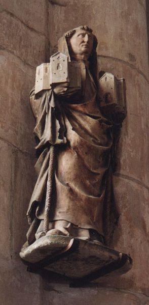 Statue of St Robert of Molesme in Germany
