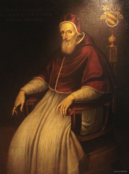 St. Pope Pius V, photographed at the Musee des Arts Decoratifs