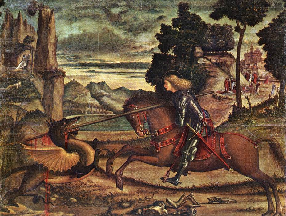 St George and the Dragon by Vittore Carpaccio
