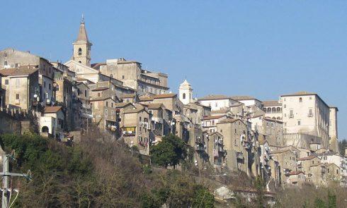 The city of Genazzano