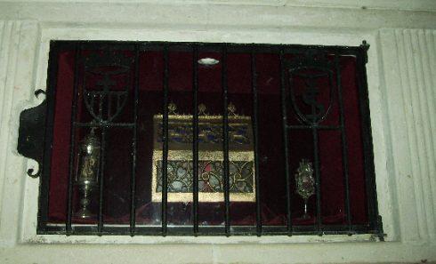 The tomb of St. Peter Armengol in the church of St. Jaume at La Guàrdia dels Prats.