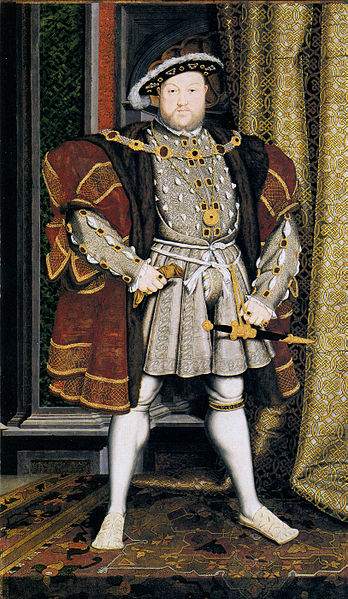 Henry VIII Painted by Hans Holbein the Younger