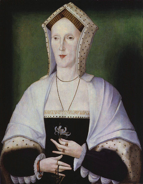 Bl Margaret Pole, Countess of Salisbury, by unknown artist.