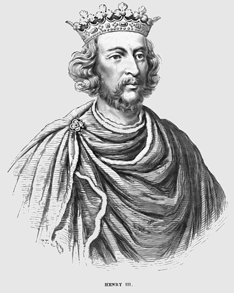 King Henry III of England