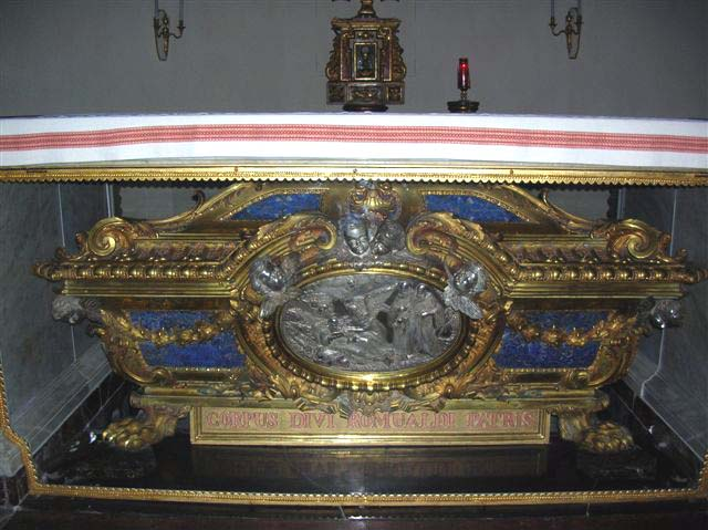 Tomb of Saint Romuald, in St. Biagio Church at Fabriano