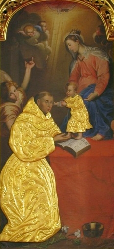 St. Anthony of Padua by Franciszek Lekszycki at the Sanctuary of Our Lady of Loreto in Poland.