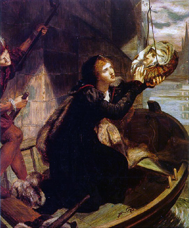 Margaret Roper Rescuing the Head of Her Father.