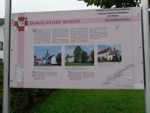 St. Boniface Route follows the tracks of the funeral procession which, with great interest of the population, brought the body of the missionary and church reformer from Mainz to its final resting place in Fulda in the year 754. The beginning and the end of the route are in the two old, significant bishops' seats of Mainz and Fulda with their magnificent church buildings. The St. Boniface route ends at the baroque cathedral in Fulda.