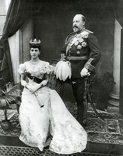 King Edward VII of England and Queen Alexandra
