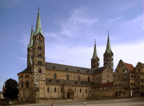 Bamberg Cathedral, where St. Henry and his wife are buried.