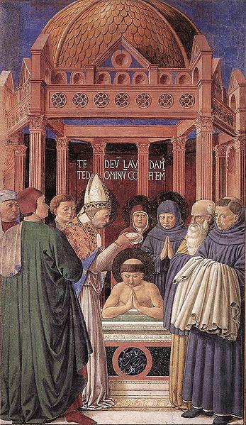 Baptism of St. Augustine