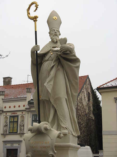 Statue of Saint Augustine in Austria