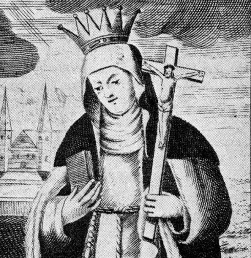 Blessed Gertrude of Altenberg, daugther Saint Elizabeth of Hungary
