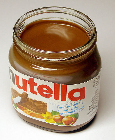 Nutella was invented in Italy during WWII because there was a lack of chocolate, but there was no shortage of hazelnuts.
