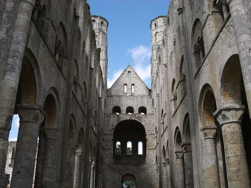 Ruins of the Abbey Jumièges