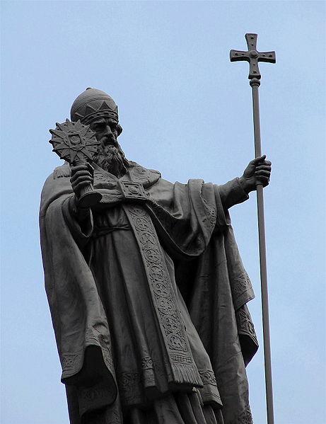 Statue of Pope St. Gregory in Copenhagen