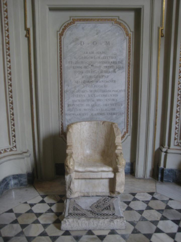 Throne of Pope St. Gregory the Great