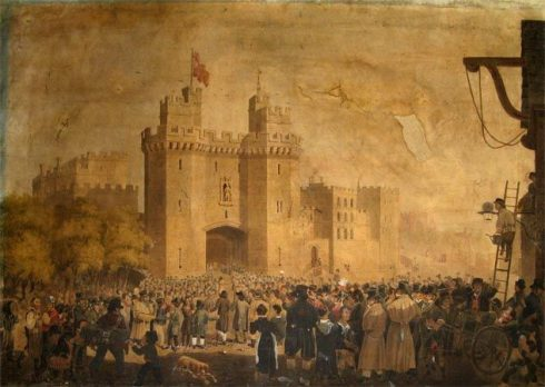 Arrival of Prisoners at Lancaster Castle.