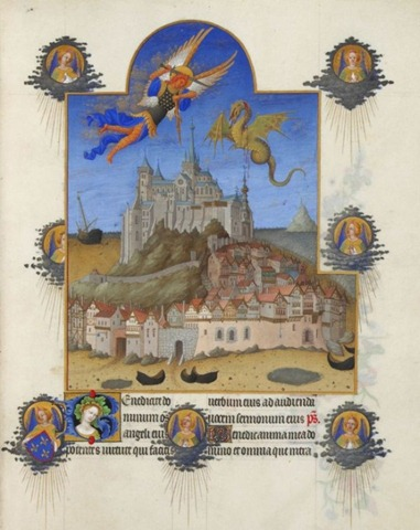 Saint Michael book of hours