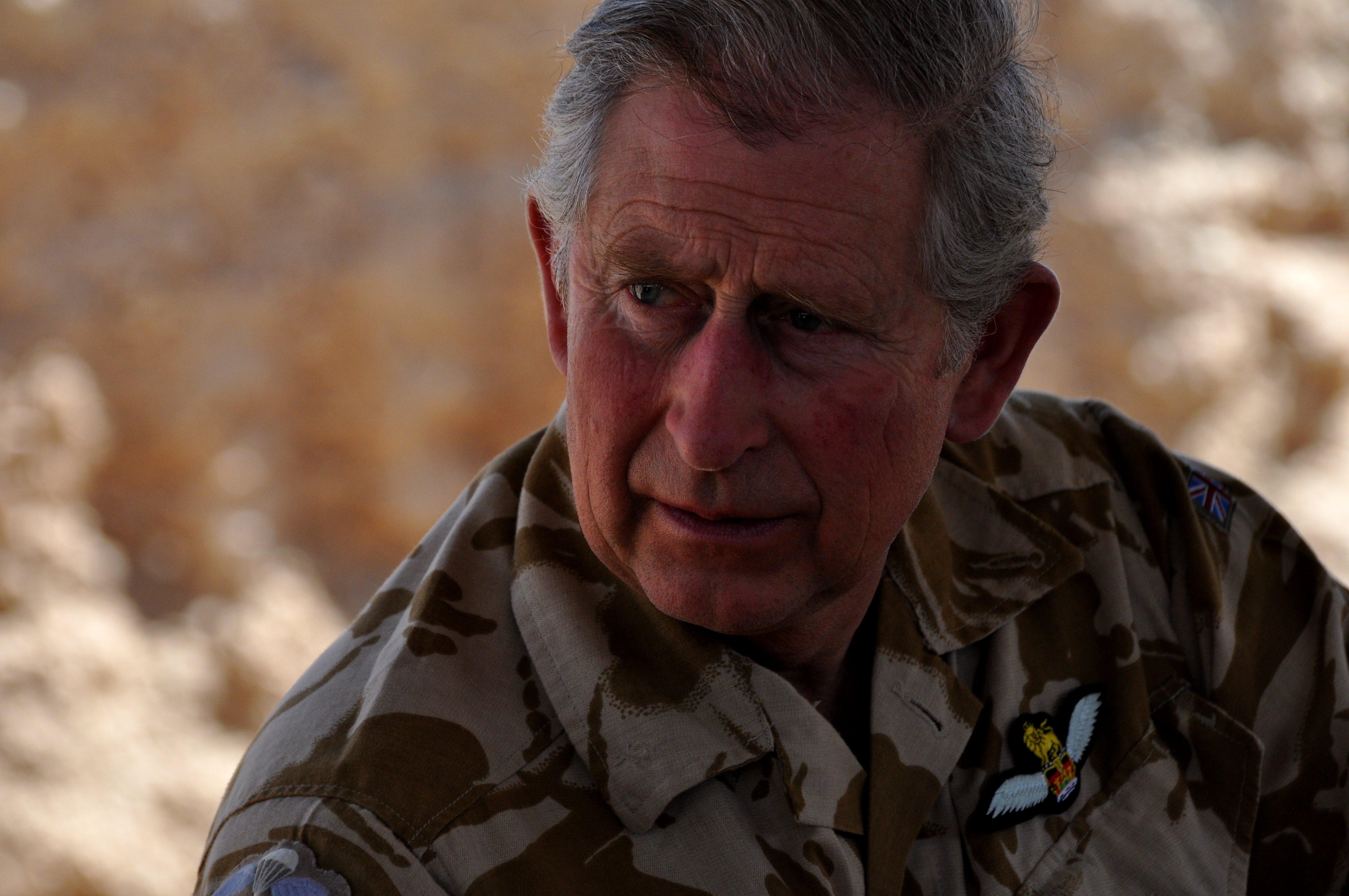 HRH Prince Charles, The Prince of Wales.  Photo by Helmandblog.