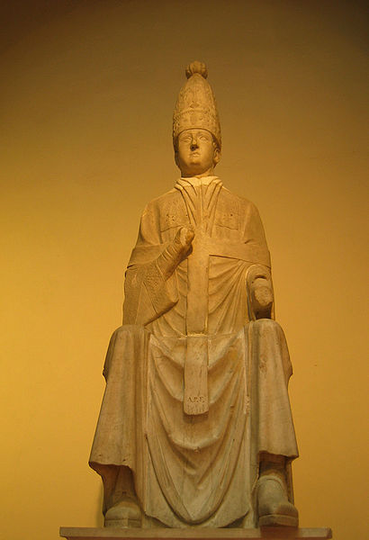 Statue of Pope Boniface VIII, The Museum of the Opera del Duomo, Florence