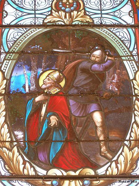 death of St. Leodegar