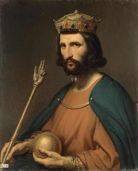 King Hugh of France.