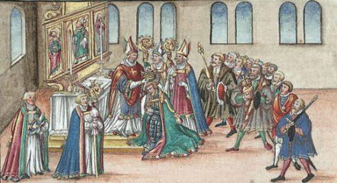 Coronation of Albert I of Habsburg
