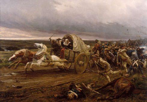 War of La Vendée Painting by Jules Girardet
