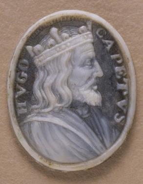 Medallion of Hugues Capet