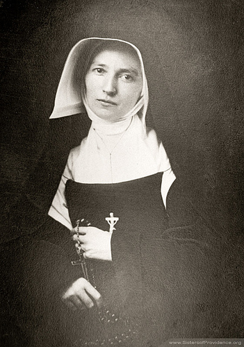 """Sister St. Francis Xavier LeFer (1816-1856) came from France in 1841 and """"was the soul of the congregation,"""" according to Mother Théodore. She died on January 31, about 4 month before Mother Théodore's death."""