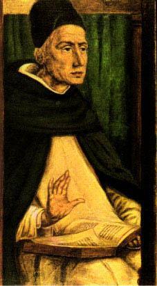St. Albertus Magnus Painting by Joos van Gent