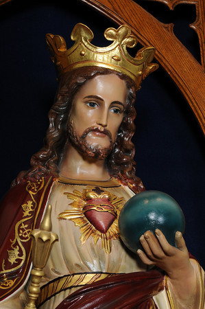 St. Peter promoted devotion to the Sacred Heart.