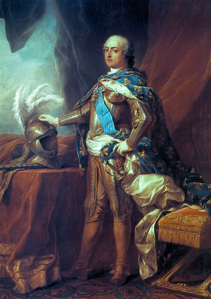 King Louis XV of France, Painted by Charles-André van Loo