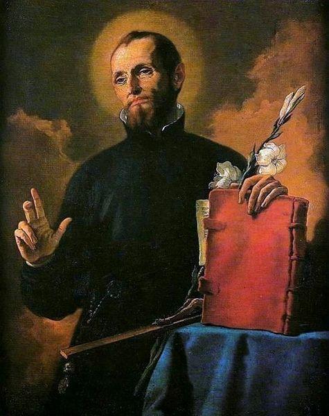 Saint Cajetan, founder of the Theatines.