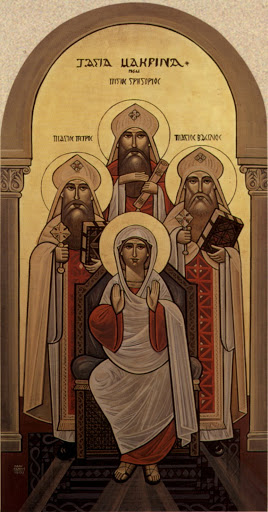 St. Macrina the Elder was was the Grandmother of St. Basil the Great, St. Gregory of Nyssa, St. Peter of Sebaste, and St. Macrina the Younger. Photo by Pishoy D.
