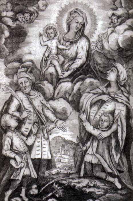 Saints Marius, Martha, Audifax and Abacum