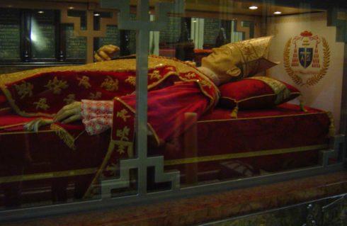 Tomb of Bl. Alojzije Stepinac in the Cathedral of Zagreb